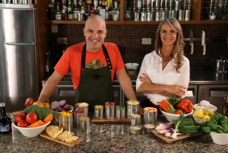 Chef Santiago Giorgini y Dra. Paola Harwicz